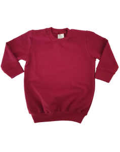 Baby sweater _JURK_BURGUNDY - png