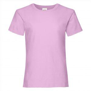 T-shirt meiden pink light 5-015 - kopie