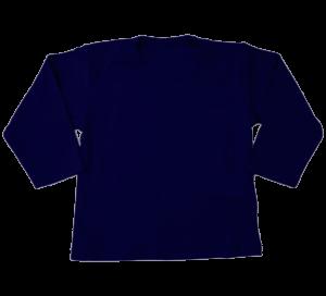 t-shirt lange mouw navy bleu