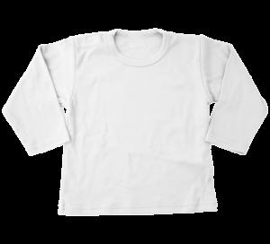 T-shirt lange mouw wit