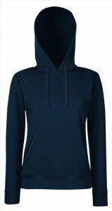 Dames hoodie Navy blue