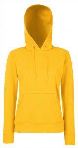 Dames hoodie Yello