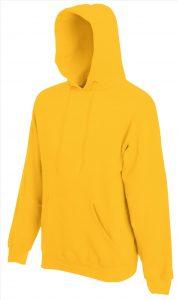 Heren hoodie Yello