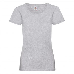 Dames t-shirt heater grey