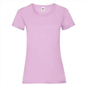 Dames t-shirt pink light