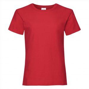 t-shirt rood meiden 5-15 - kopie